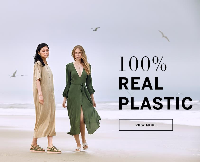 100 percent real plastic