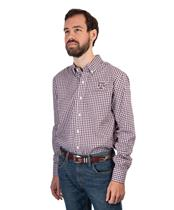 6109aad1c Texas A&M Cutter & Buck Long Sleeve Gingham Button Down Maroon/White ...