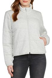 SEARCH FOR SANITY Soft Knit Quilted Jacket