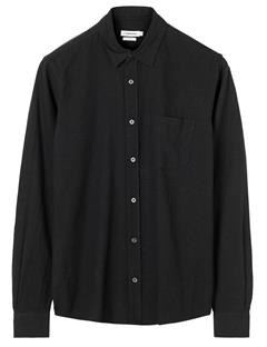 Mens Daniel CL S Raw Silk Shirt Black