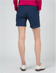 Womens Klara Micro Stretch Shorts Navy/Purple