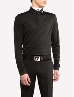 Tour Tech TX Jersey Regular Fit Long-Sleeved Polo Black