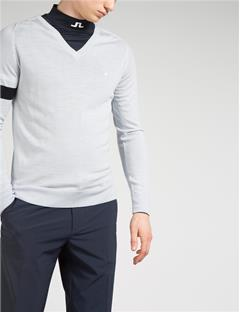 Mens Kristoffer Merino Sweater Stone Grey