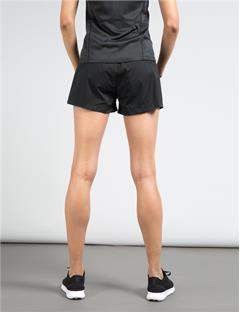 Womens Track Shorts Black