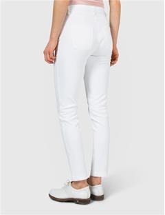 Womens Jasmine Micro Stretch Pants White