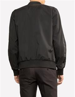 Mens Force Matt Nylon Jacket Black