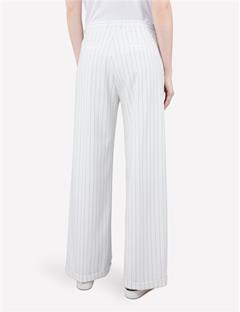 Kori Fab Pinstripe Pants Off White