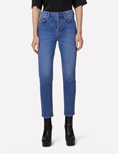 Womens Study Brake Jeans Mid Blue
