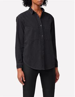 Tran Smoke Denim Shirt Black