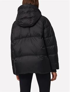 Sloane Shiny Down Jacket Black