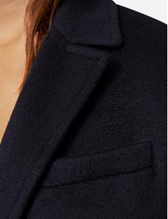 Laya Cashmere Blend Coat Black