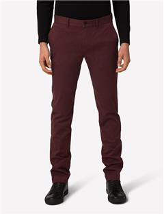 Mens Chaze Flannel Twill Pants Dusty Burgundy