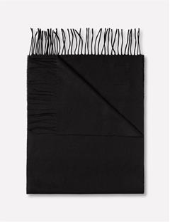 Champ Solid Wool Scarf Black