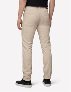 Jay Solid Stretch Jeans Pale Beige
