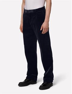 Mens Dropper Whales Pants Black