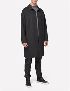 Mens Cope Hand Double Coat Anthracite Mel