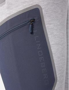 Athletic Tech Sweatpants Stone Grey Melange