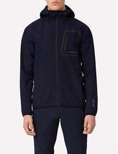 Gore Paclite Hooded Jacket JL Navy