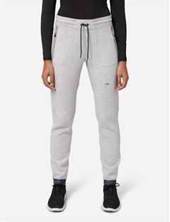 Womens Athletic Tech Sweatpants Stone Grey Melange