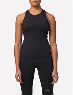 Womens Tech Racerback Tank Black