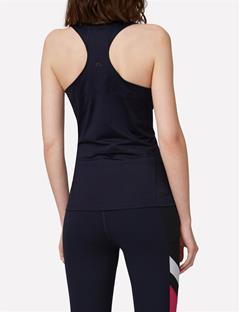 Womens Tech Racerback Tank JL Navy