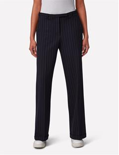 Womens Kori Fab Pinstripe Pants Navy