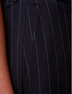 Kori Fab Pinstripe Pants Navy