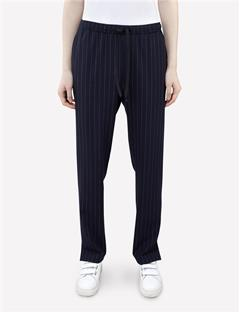 Womens Spring Fab Pinstripe Pants Navy