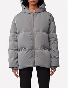 Sloane Nickel Memo Down Jacket Silver