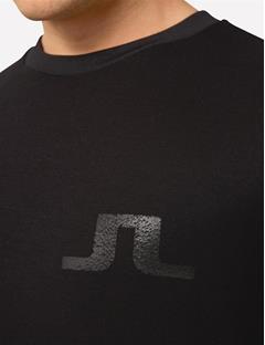 Link Double Face Jersey Sweatshirt Black