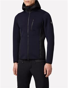 Mens Regal Techno Jersey Mid-Jacket JL Navy