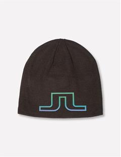 Logo Wool Blend Hat Black