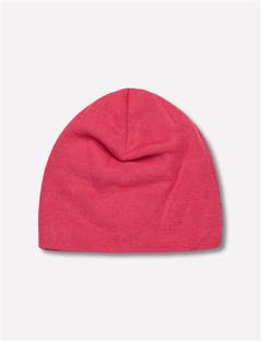 Logo Wool Blend Hat Pink Intense
