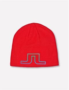 Logo Wool Blend Hat Racing Red