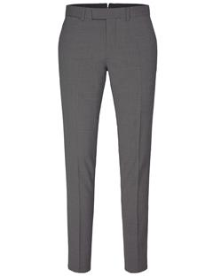Mens Grant Grid Pants Lt Grey