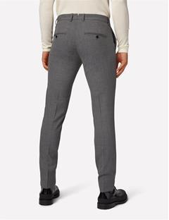 Grant Grid Pants Lt Grey
