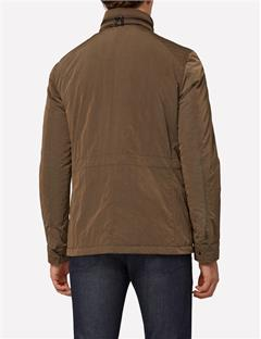Mens Farren Nylon Jacket Major Brown