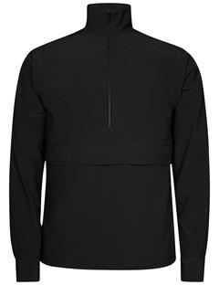 Mens David Zip Tech Jacket Black