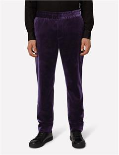 Mens Noel Velvet Dream Pants Dk Plum