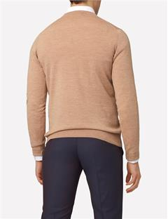 Mens Lymann True Merino Knit Sweater Woodsmoke