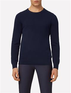 Mens Dexter Circle Structure Sweater JL Navy