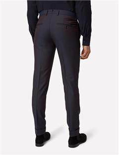 Grant Wool Mohair Pants Dk Plum