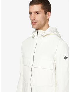 Bass Nickel Memo Jacket Whisper White