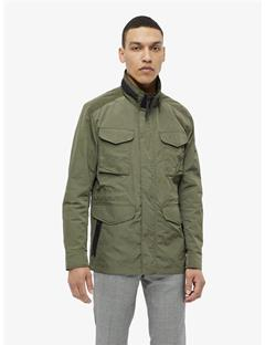Farren Nickel Memo Jacket Beetle