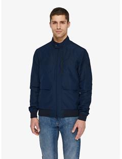Mens Traver Memo Jacket JL Navy
