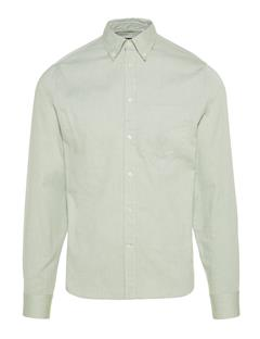 Mens Daniel Stretch Oxford Shirt Hedge Green