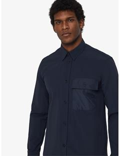 David Auto Nylon Shirt JL Navy