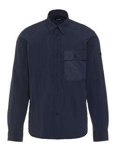 Mens David Auto Nylon Shirt JL Navy