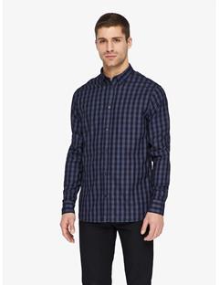 Mens Daniel Aircel Shirt Mid Blue