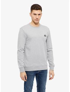 Throw Ring Loop Sweatshirt Lt Grey Melange